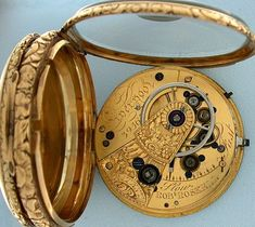 Bogoff Antique Pocket Watches Roskell with Multicolor Dial #6392