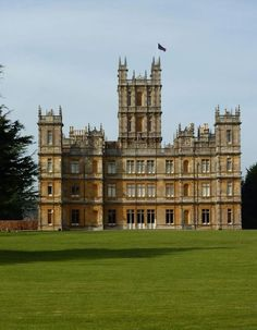 Downton Abbey Highclere Castle  Tour featured on Between Naps on the Porch