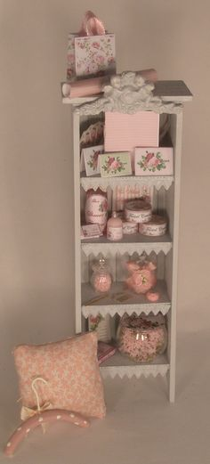 Etergere Display #1 by Syreeta's - $389.00 : Swan House Miniatures, Artisan Miniatures for Dollhouses and Roomboxes