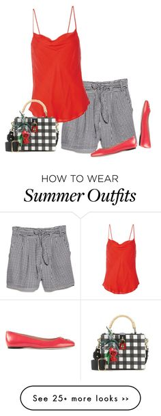 """fresh summer gingham"" by bodangela on Polyvore"