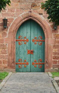 door.... Schlitz, Hesse, Germany