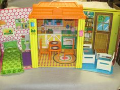 #Barbie always had the coolest pad! Her Country Living house is in Arc's Value Village online shop. Vintage circa 1973. #Retro !