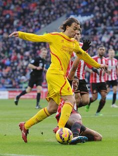 Lazar Markovic gaves the victory to Liverpool, today, against Sunderland.