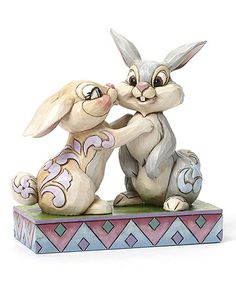 Look what I found on #zulily! Disney Thumper & Miss Bunny Figurine #zulilyfinds