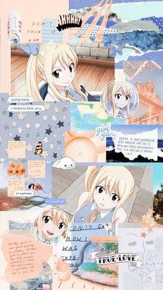 phone wall paper for girls Anime Aesthetic Wallpaper Fairy Tail Natsu Fairy Tail, Fairy Tail Funny, Fairy Tail Art, Anime Shojo, Otaku Anime, Manga Anime, Manga Girl, Anime Girls, Cute Anime Wallpaper