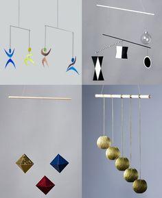 Montessori Visual Mobile Series from Bella's Casa
