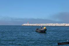 Pescando pulpos en la zona de la Playa de Costa Nova, donde están las casa pintadas a rayas... en Aveiro, Portugal.