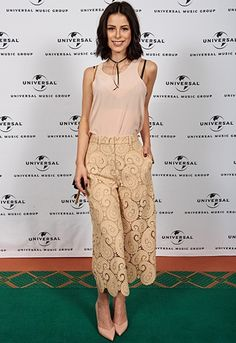 The look of the week goes to Lena Meyer-Landrut