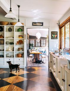 """This 99-year-old weatherboard cottage is filled with an eclectic mix of treasures House snapshot Janice and her partner Mark have lived in their 99-year-old weatherboard in Brooklyn NSW, Australia for 12 years. When it comes to decorating Janice's style is very eclectic and the home is full of unique treasures, gathered over time. """"We have …"""