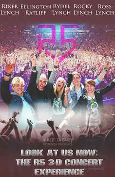 R5 is coming out. I never remember how I came came to see them!!!!!!! Can't wait to see it I love Rydel and Riker the most.