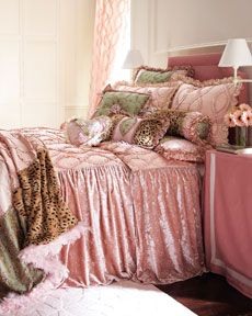 """+1980 Dian Austin Couture Home """"Sweet & Sassy"""" Bed Linens"""
