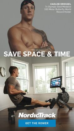 Cross Training Workouts, Body Training, Caeleb Dressel, Matcha, Rowing Machines, Home Workout Equipment, Fitness Design, World Records, Total Body