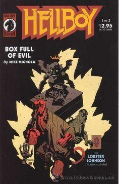 HELLBOY: BOX FULL OF EVIL, SERIE LIMITADA COMPLETA DE 2 NÚMEROS, DARK HORSE, 1.999. USA