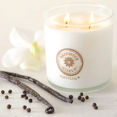 Vanilja & mustapippuri Kynttiläpurkki