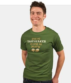 Men's Philly Tastykakes. www.therethere.com