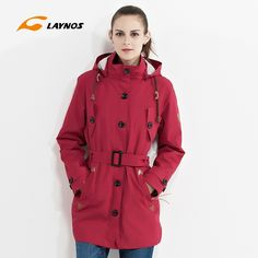 64.13$  Watch now - http://ali6of.worldwells.pw/go.php?t=32735625801 - Detachable Woman breathable Waterproof Long sweep Triad ski-wear Lady Winter Hiking Clothes Outdoor Fleece Thermal Twin-jacket