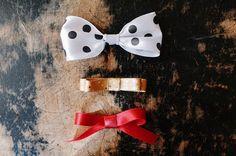 How To Make a Ribbon Bow - 3 Ways || by Kittenhood via Jade and Fern