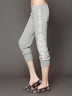 Side Printed Legging