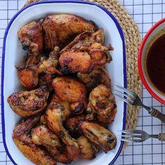 Turkey Recipes, Tandoori Chicken, Chicken Wings, Meat, Ethnic Recipes, Food, Greek, Essen, Meals
