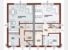 House Plans, Floor Plans, Flooring, How To Plan, Little Cottages, Home And Garden, Build House, Ground Floor, Wood Flooring