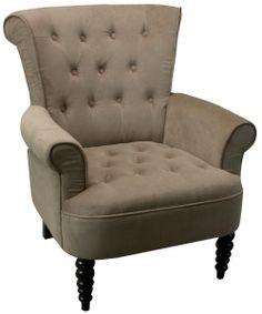 Estelle Buttoned Armchair