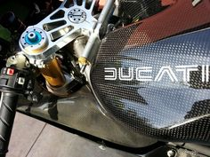 Ducati 998 carbon with Spanish logo