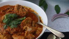ACHARI CHICKEN - Chicken Curry simmered in pickling spices
