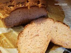 rusztikus gluténmentes kenyér recept