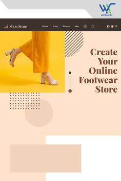 Creating an online Footwear store requires a proper #ecommerce platform. #Webmerx will set up the store for you so that you can start selling hassle free. Get in touch with us now! Ecommerce Solutions, Shoes Online, Create Yourself, Footwear, Platform, Touch, Store, Free, Shoe