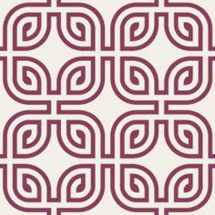 Fine Decor Magnum Wallpaper Plum / White / Silver - Fine Decor from I love wallpaper UK