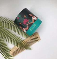 Power Hair Set for Dry, Frizzy or Curly Hair Back To Your Roots Scalp + Hair Prewash ❤ Neem Wood Comb