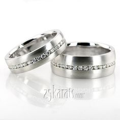 Wedding Band Sets, His and Hers Wedding Bands, Matching Wedding Rings, Wedding Ring sets - page 4 Matching Wedding Rings, Wedding Band Sets, Couple Bands, Ring Verlobung, Princess Wedding, Diy Wedding, Wedding Stuff, Engagement Rings, Diamond