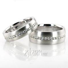 14K #Gold Diamond Classic Round Cut Wedding Band #Diamond Classic Round Cut Wedding Band #shine #bright