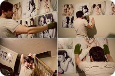 Mounted Wall Portraits