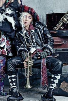 G-Dragon (Kwon Ji Yong ) ♡ #BIGBANG for Vogue Korea 2013.  Omo my heart is gonna explode!!!!