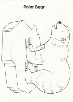 Top 10 Free Printable Polar Bear Coloring Pages Online | Polar bear ...