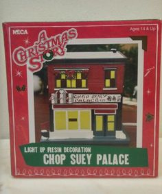 A Christmas Story light up resin decoration Chop Suey Palace new in box Chop Suey, A Christmas Story, Light Up, Palace, Resin, Box, Frame, Decoration, Home Decor