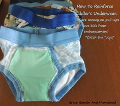 if youre the crafty sort you can reinforce toddler undies so theyre absorbent and great for night training