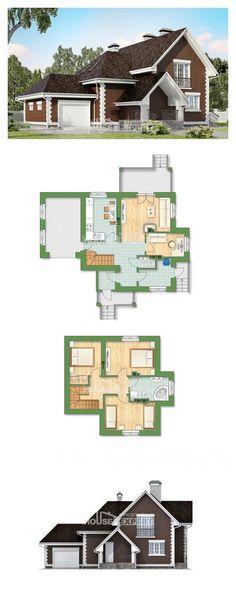 Ev villa projesi 190-003-L | House Expert