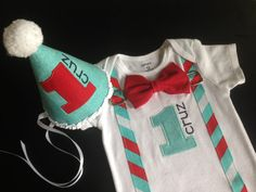 Hey, I found this really awesome onesie Etsy listing at https://www.etsy.com/listing/193838718/bowtie-suspenders-birthday-set-in