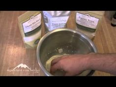 How to Make Herbal Tooth Powder. Tooth powders can be used instead of toothpaste for brushing teeth. This recipe from Heather Nic an Fhleisdeir of the Academy of Scottish Herbalism uses sea salt, kaolin clay, baking soda, spearmint essential oil and dried sage. Buy herbal ingredients at http://www.mountainroseherbs.com/index.php?AID=102897=8040