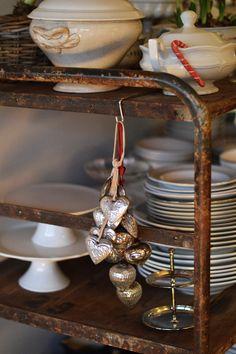 Family Christmas Eve Dinner - fork and flower Christmas Eve Dinner, Family Christmas, Cream Aga, Kitchen Dresser, Dinner Fork, Big Kitchen, Walk In Pantry, Farmhouse Table, Home Decor