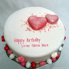 Cake Images With Name Bharti : Write name on Fondant Birthday Cake For Mother - Happy ...