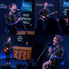 Thanks to BANNERS for playing a #KeepOregonWell show with us last week at Kink.fm's Skype Live Studio!  Get involved with our campaign to #FightStigma now at www.KeepOregonWell.com  #Banners #TrilliumRocks #PDXmusic #MentalHealthMatters