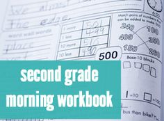 2nd Grade Common Core Morning Work - Second Story Window