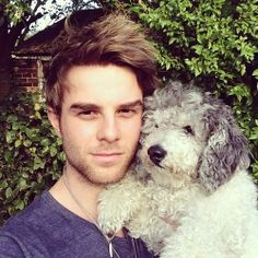Nate Buzz and his little woofer ♥