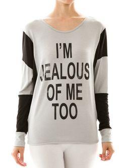 I'm Jealous Tee – The Unbridled Boutique