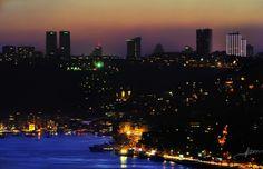 Bir İstanbul Silüeti (Bebek Koyu)  A silhouette of Istanbul