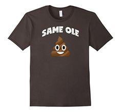 Men's Poop Emoji T Shirt Same Ole Poop Shirt Poop Emoji 2... https://www.amazon.com/dp/B01MDQGK4C/ref=cm_sw_r_pi_dp_x_3Xoeyb7KQ2G4Z