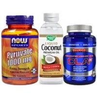 3 Effective Fat Melters Stack (CLA, Pyruvate, MCT Oil) Stack $35.99
